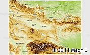 Physical 3D Map of Grad Sofija