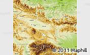 Physical Map of Grad Sofija