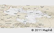 Classic Style Panoramic Map of Grad Sofija