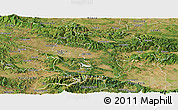 Satellite Panoramic Map of Grad Sofija
