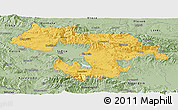 Savanna Style Panoramic Map of Grad Sofija