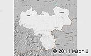 Gray Map of Haskovo