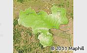 Physical Map of Haskovo, satellite outside