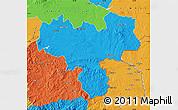 Political Map of Haskovo