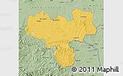 Savanna Style Map of Haskovo