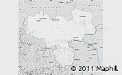 Silver Style Map of Haskovo