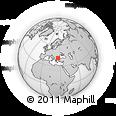 Outline Map of Haskovo