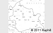 Blank Simple Map of Kardzali