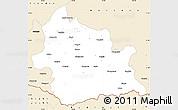 Classic Style Simple Map of Kardzali