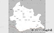 Gray Simple Map of Kardzali