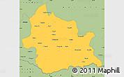 Savanna Style Simple Map of Kardzali