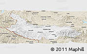 Classic Style Panoramic Map of Kjustendil