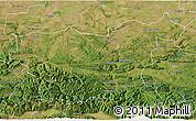Satellite 3D Map of Lovec