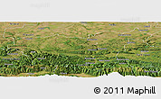 Satellite Panoramic Map of Lovec