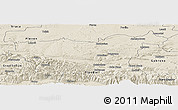 Shaded Relief Panoramic Map of Lovec