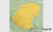 Savanna Style Map of Montana