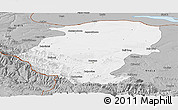 Gray Panoramic Map of Montana