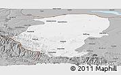 Gray Panoramic Map of Montana