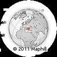 Outline Map of Pazardzik