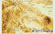 Physical 3D Map of Pernik