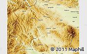 Physical Map of Pernik