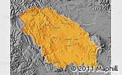 Political Map of Pernik, desaturated