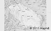 Silver Style Map of Pernik
