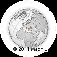 Outline Map of Pernik