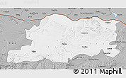 Gray 3D Map of Pleven