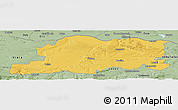 Savanna Style Panoramic Map of Pleven
