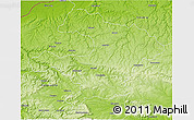 Physical 3D Map of Razgrad