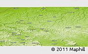 Physical Panoramic Map of Razgrad