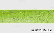 Physical Panoramic Map of Silistra