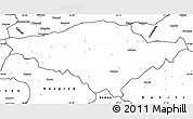 Blank Simple Map of Silistra