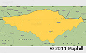 Savanna Style Simple Map of Silistra