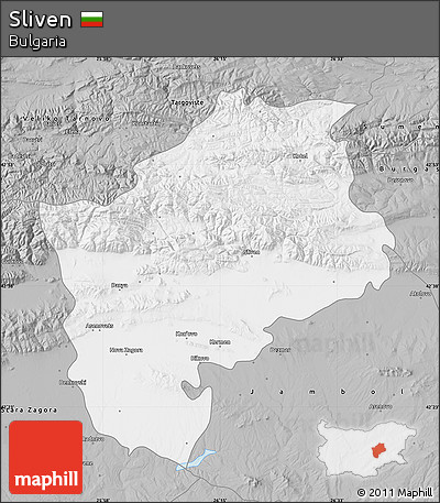 Gray Map of Sliven