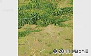 Satellite Map of Sliven