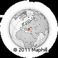 Outline Map of Sliven