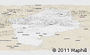 Classic Style Panoramic Map of Sliven