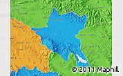 Political Map of Sofija