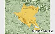 Savanna Style Map of Sofija