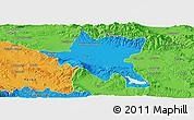 Political Panoramic Map of Sofija