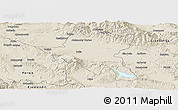 Shaded Relief Panoramic Map of Sofija