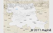 Classic Style 3D Map of Stara Zagora