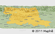 Savanna Style Panoramic Map of Stara Zagora