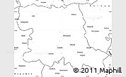 Blank Simple Map of Stara Zagora
