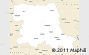 Classic Style Simple Map of Stara Zagora