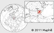 Blank Location Map of Sumen