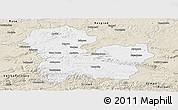 Classic Style Panoramic Map of Targoviste