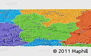 Political Panoramic Map of Targoviste